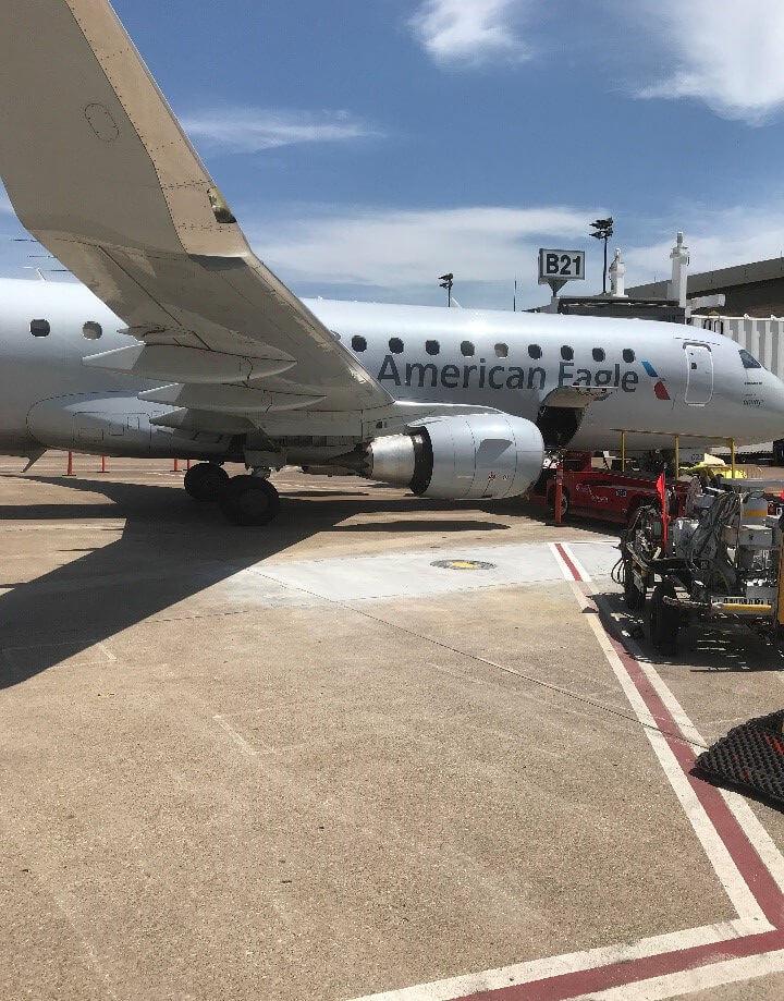DFW Terminal B Fuel Hydrant